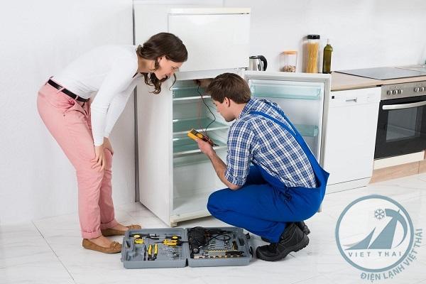Sửa tủ lạnh quận Phú Nhuận giá rẻ